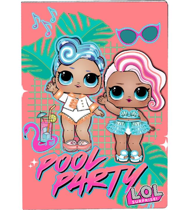 L.O.L Surprise! Pool Party värityskirja