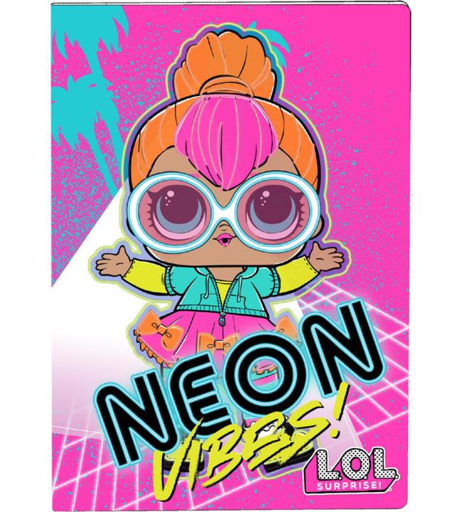 L.O.L Surprise! Neon Vibes! Värityskirja