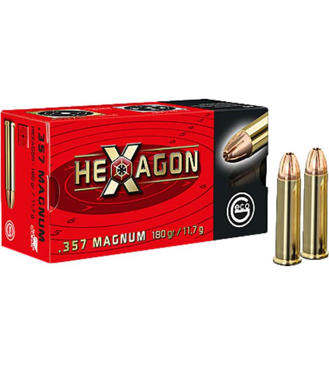Geco .357 Magnum Hexagon 11,7 g 50 kpl patruuna