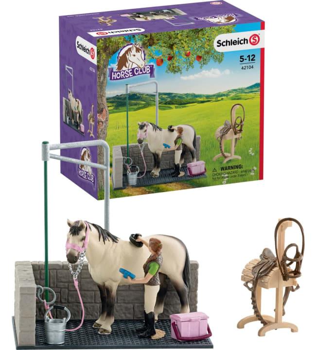 Schleich Horse Club pesupaikka hevosille