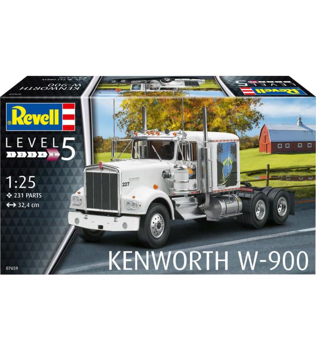 Revell Kenworth W-900 1:25 pienoismalli