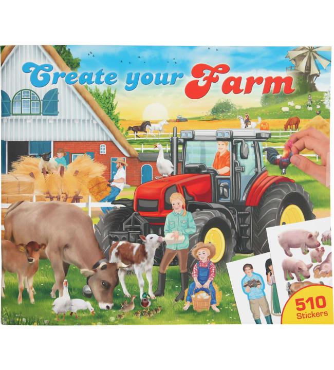 Create your Funny Farm tarrakirja