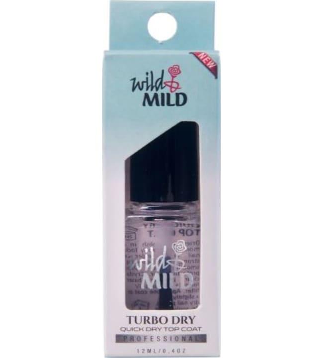 Wild&Mild Turbo Dry 12 ml pikakuivattava päällyslakka