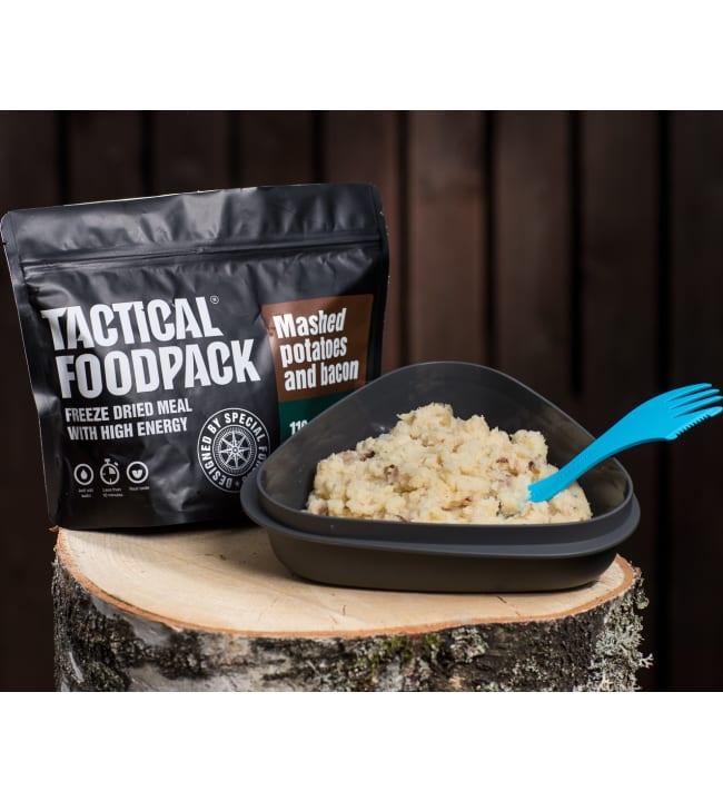 Tactical Foodpack perunamuusi pekonilla 110g retkiateria