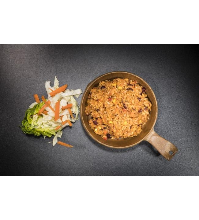 Tactical Foodpack kasviksia riisillä 100g retkiateria