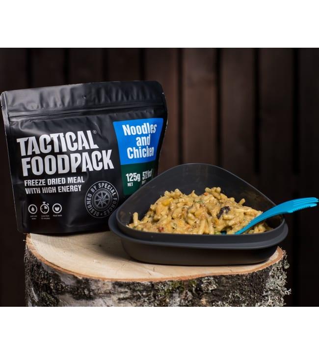 Tactical Foodpack kanaa nuudeleilla 120g retkiateria