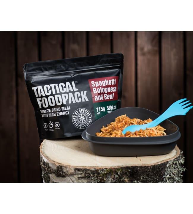 Tactical Foodpack spagetti bolognese 110g retkiateria
