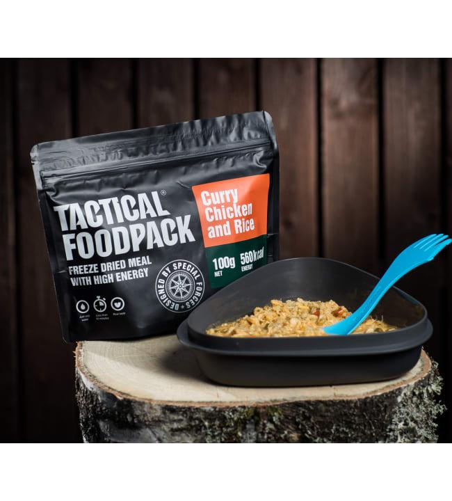 Tactical Foodpack currykanaa riisillä 100g retkiateria