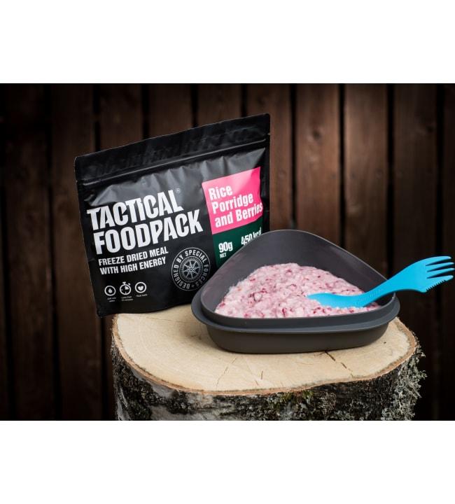 Tactical Foodpack vadelma-riisipuuro 90g retkiateria