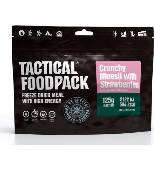 Tactical Foodpack Rapea mysli mansikoilla