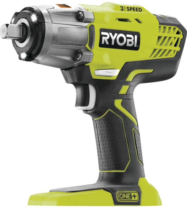 Ryobi One+ R18IW3-0 18V iskevä akkumutterinväännin runko