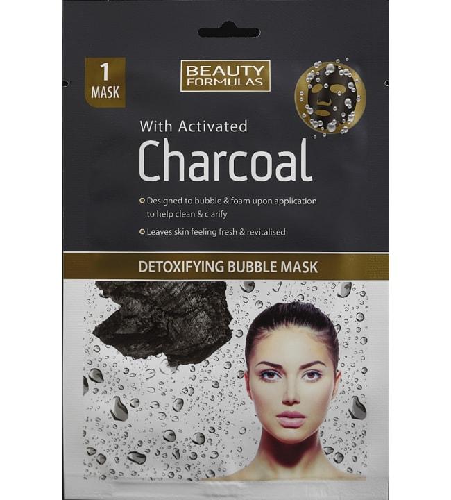 Beauty Formulas Detoxifying Puuhiili kuplamaski
