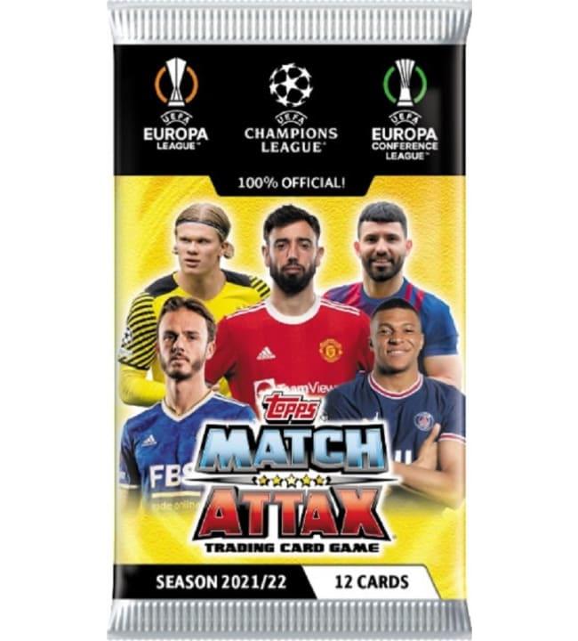 Champions League Match Attax -keräilykortit Season 2021/22