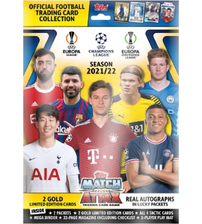Champions League Match Attax keräilykortit aloituspakkaus