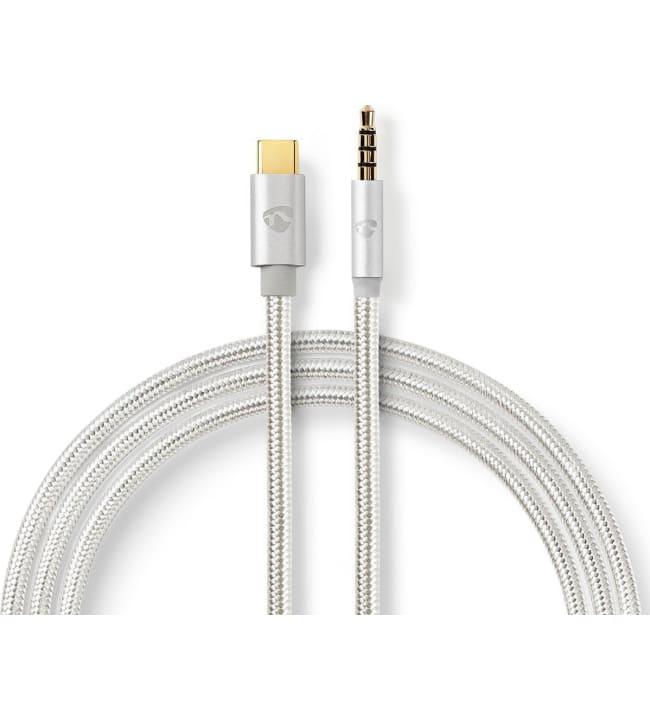 Nedis USB-C - 3.5 mm audiosovitinkaapeli