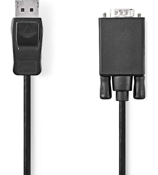 Nedis DisplayPort - VGA kaapeli