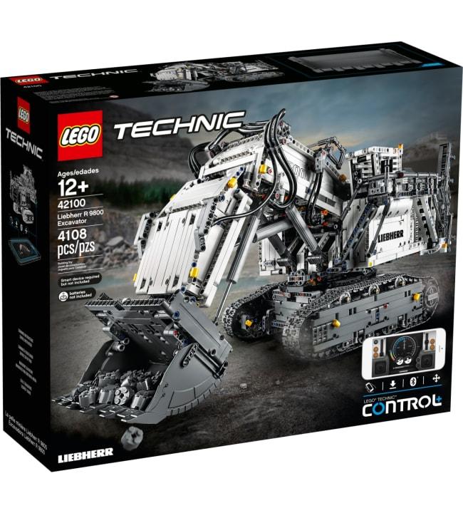 LEGO Technic Control+ 42100 Liebherr R 9800 kauko-ohjattava kaivinkone