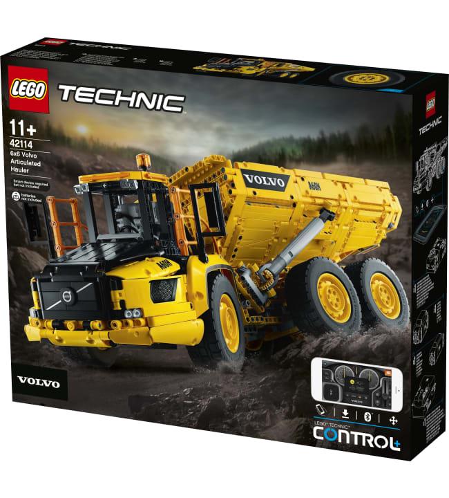LEGO Technic Control+ 42114 Nivelkaivoskuorma-auto Volvo A60H 6x6 Dumper