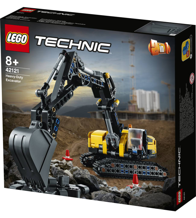 LEGO Technic 42121 Raskas kaivinkone