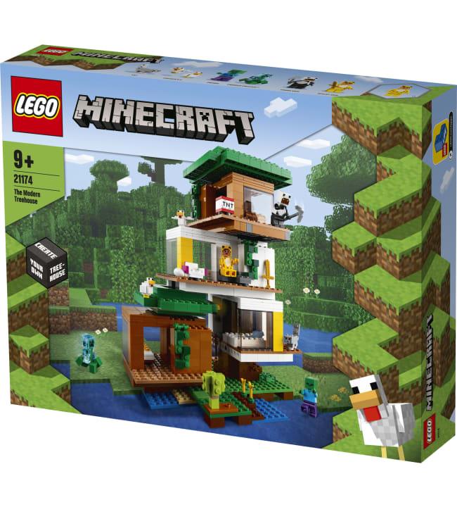 LEGO Minecraft 21174 Moderni puumaja