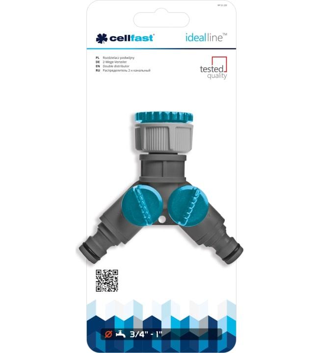 Cellfast Ideal Line kaksihaarainen jakotukki
