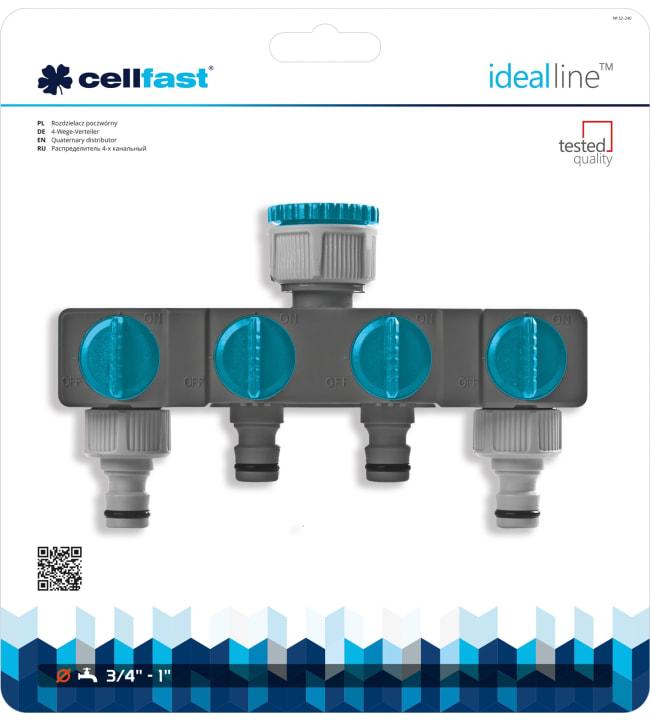 Cellfast Ideal Line nelihaarainen jakotukki
