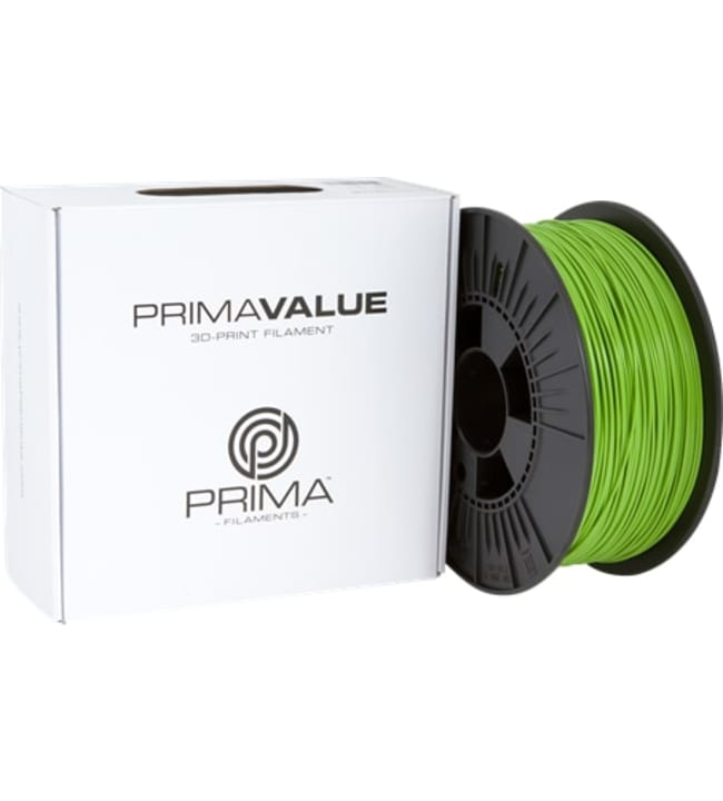 Prima PrimaValue 1.75mm 1kg vihreä PLA filamentti