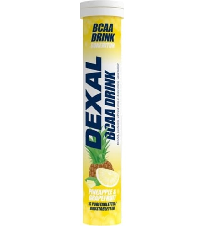 Dexal BCAA Drink Ananas&Greippi 16 kpl poretabletti
