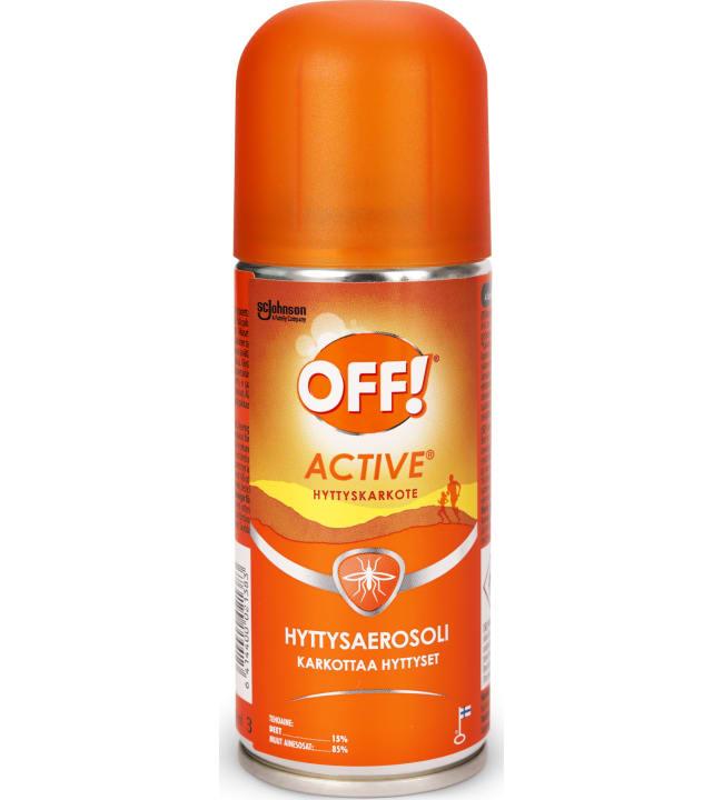 Off! Active 100 ml hyttysaerosoli