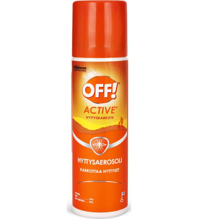 Off Active hyttysaerosoli