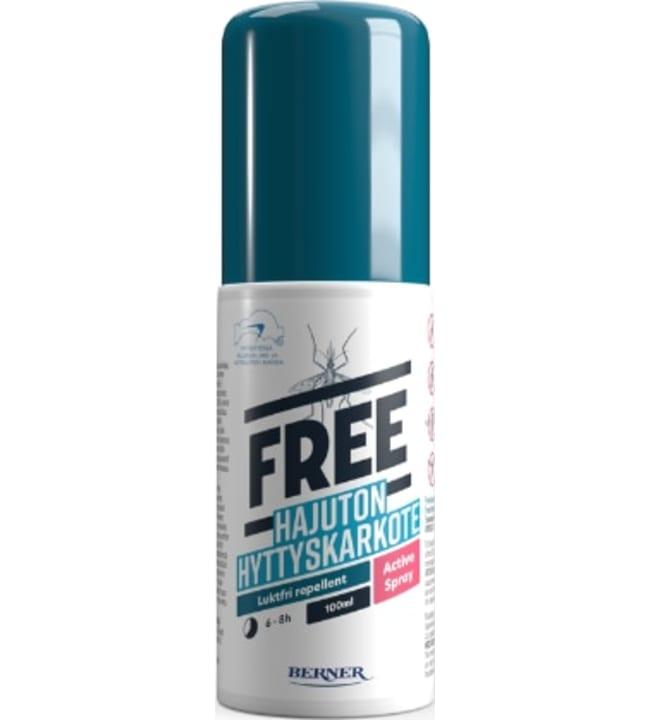 Free 100 ml active spray karkote