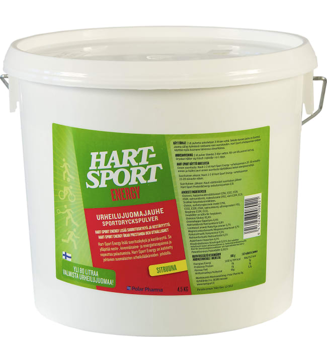 Hart-Sport Energy 4,5 kg urheilujuomajauhe