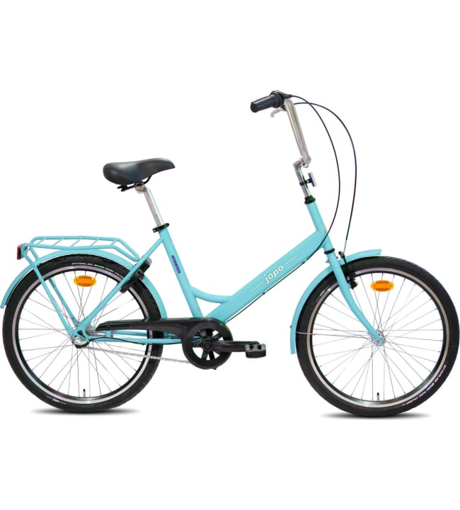 """Helkama Jopo3 24"""" 3-vaihteinen nuorten polkupyörä"""