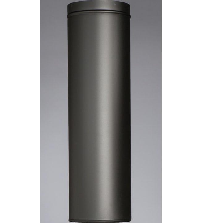 Kotakeittiö musta 0,5m jatkopiippu