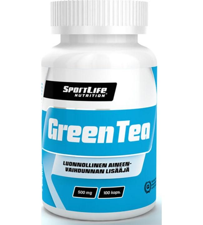 SportLife Nutrition Green Tea 100 kaps. ravintolisä