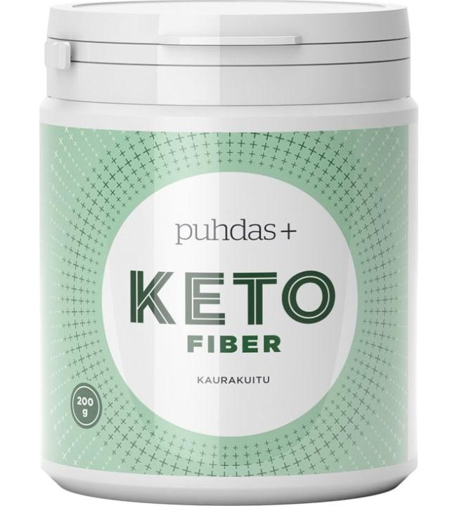 Puhdas+ KETO 200 g Fiber Kaurakuitu