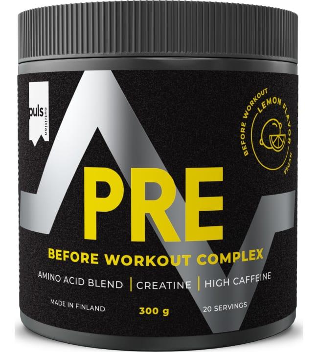 Puls Pre Workout Lemon-Lime 300 g juomajauhe