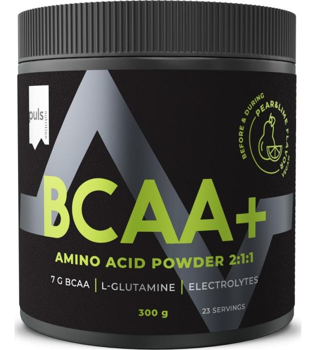 Puls BCAA+ 300 g päärynä-lime ravintolisä