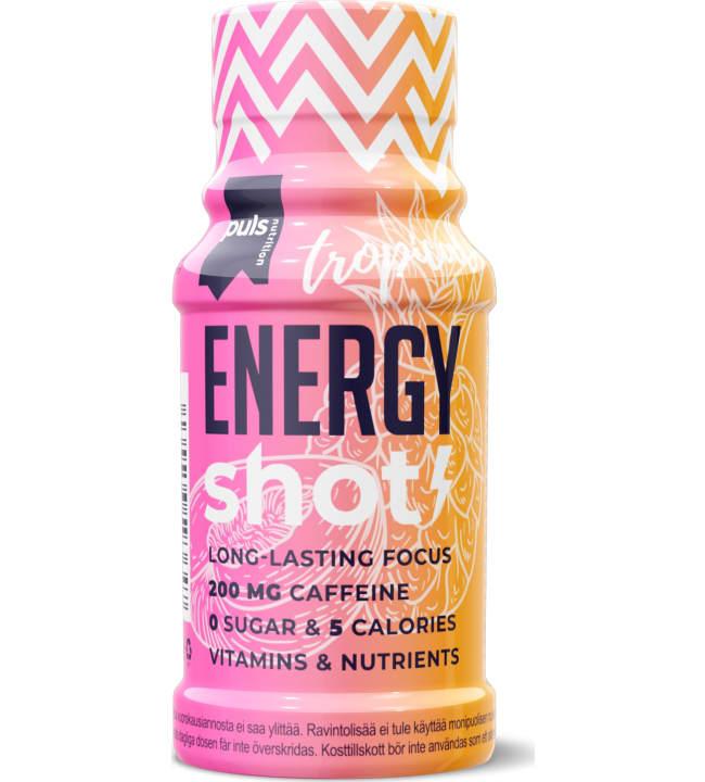 Puls Nutrition Energy Tropical 60 ml energiashotti