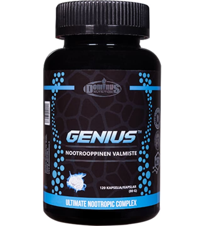 Dominus Nutrition Genius 120 kaps nootrooppinen valmiste