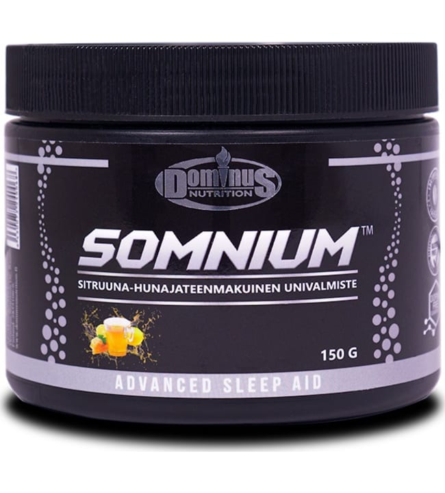 Dominus Nutrition Somnium™ Sitruuna-Hunajatee 150 g univalmiste