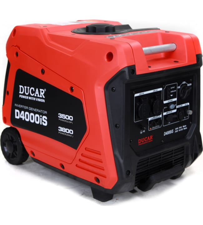 Ducar D4000iS aggregaatti