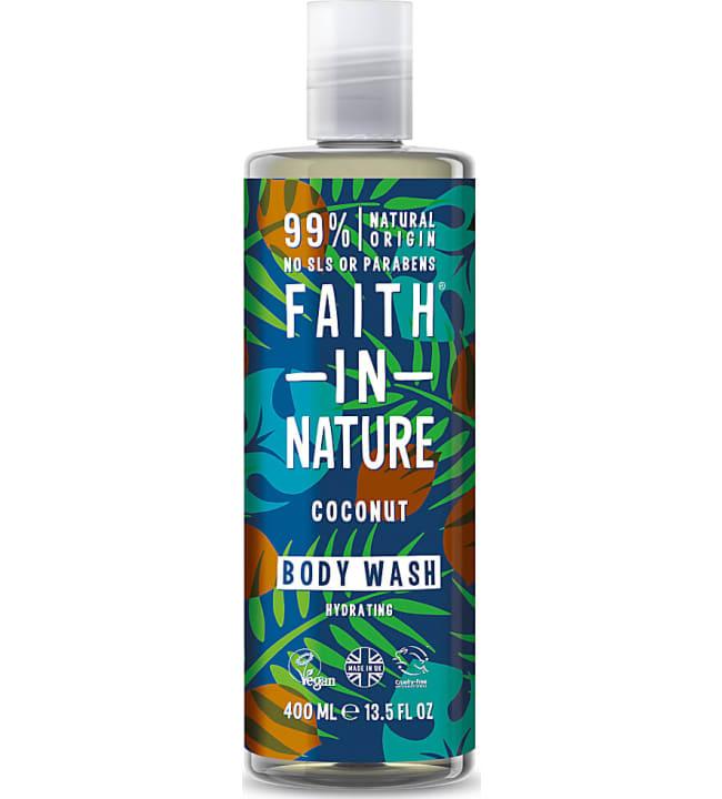Faith In Nature Kookos 400 ml suihkugeeli