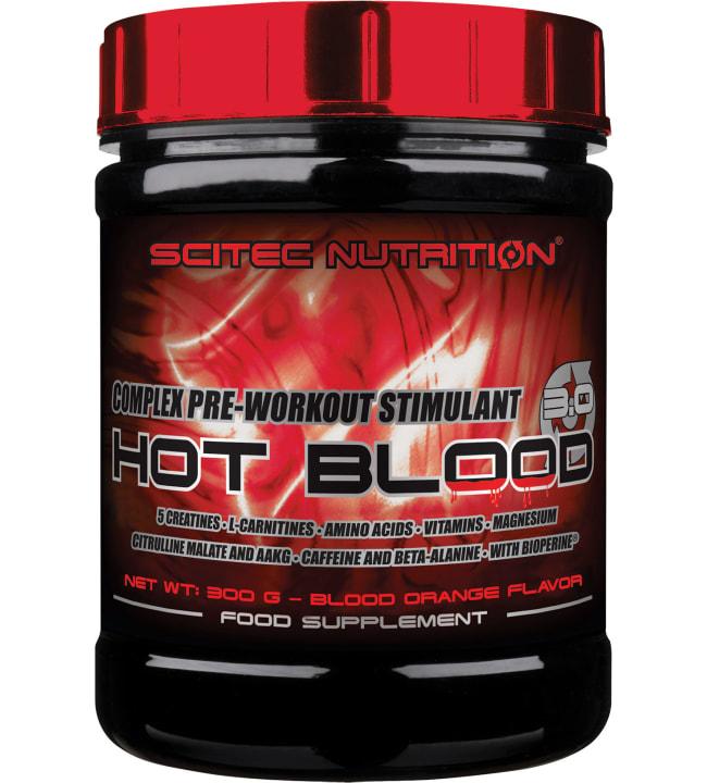 Scitec Nutrition Hot Blood 3.0 Blood Orange 300 g tehonlisääjä