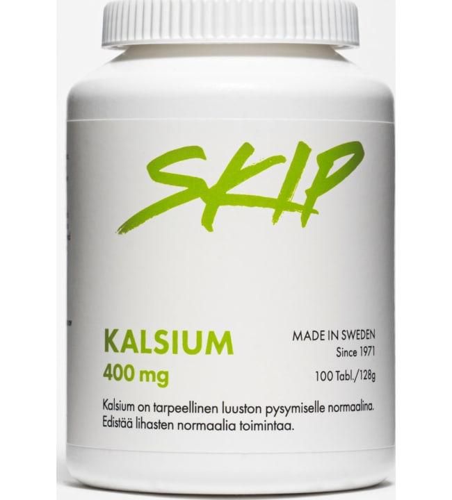 Skip Kalsium 400 mg 100 tabl. ravintolisä