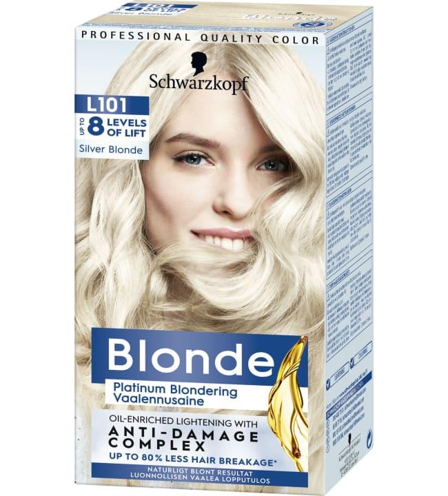 Schwarzkopf Blonde L101 Silver Blonde vaalennusaine