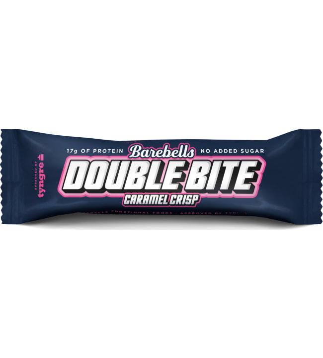 Barebells Double Bite Caramel Crisp 55 g proteiinipatukka