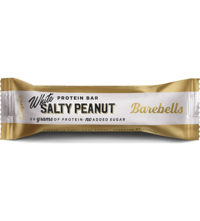 Barebells White Salty Peanut 55 g proteiinipatukka