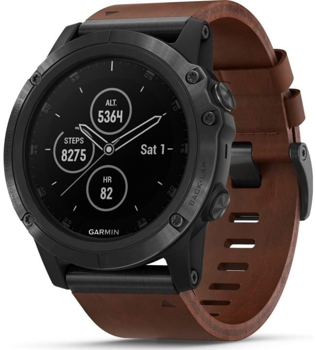 Garmin Fenix 5X Plus Sapphire harmaa GPS-multisportkello
