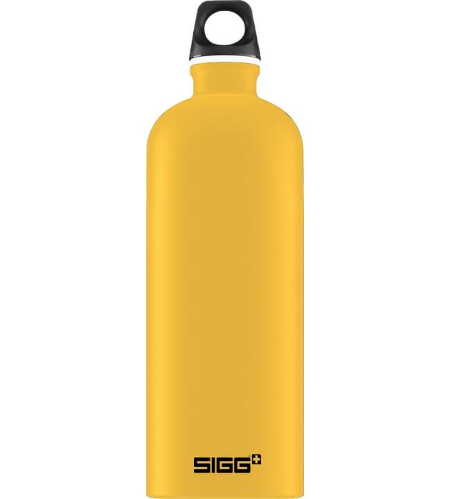 Sigg Traveller mustard touch 1l juomapullo